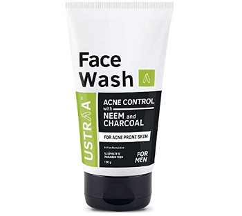 Ustraa Face Wash Acne Control Neem & Charcoal Face Wash