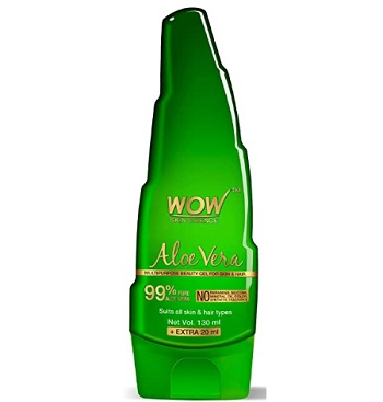WOW Aloe Vera Multipurpose Beauty Gel for Skin and Hair