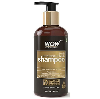 WOW Hair Strengthening Shampoo