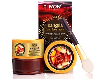 WOW Sangria Face Mask