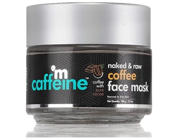 mCaffeine Naked & Raw Coffee Face Mask