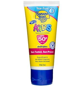 Banana Boat Kids Water-Resistant Sunscreen Lotion