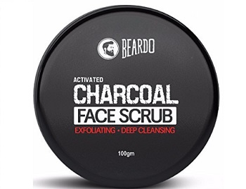 Beardo Activated Charcoal Deep Cleansing Face Scrub