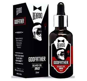 Beardo Godfather Lite Beard and Moustache Oil