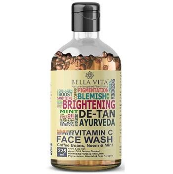 Bella Vita Organic Vitamin C Face Wash For Oily to Normal Skin