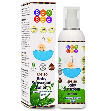 BeyBee Baby Sunscreen Lotion for Kids & New-Born Babies SPF 50