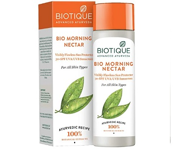 Biotique Bio Morning Nectar Sunscreen Ultra Soothing Face Lotion SPF 30