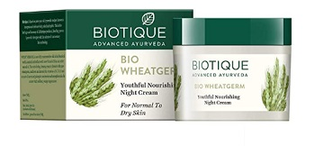 Biotique Bio Wheat Germ Firming Face and Body Night Cream