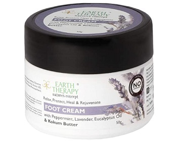 Earth Therapy Foot Cream For Cracked Heels