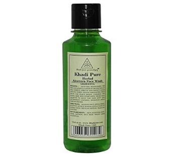 Khadi Herbal Aloe Vera Face Wash