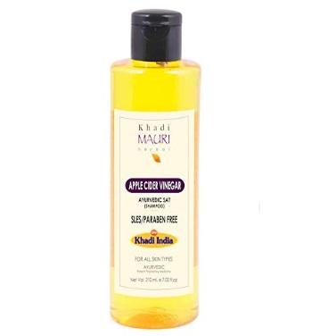 Khadi Mauri Herbal Apple Cider Vinegar Shampoo