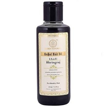 Khadi Natural Ayurvedic Bhringraj Hair Oil