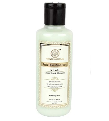 Khadi Natural Ayurvedic Green Tea Aloe Vera Hair Conditioner