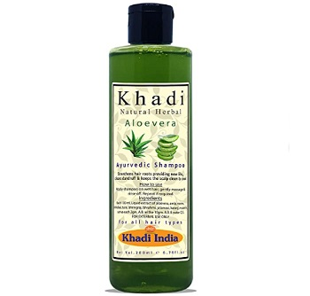 Khadi Natural Herbal Aloevera Shampoo for Men Women