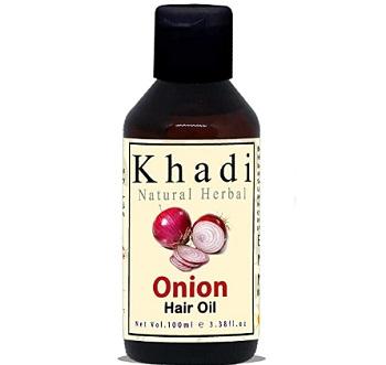 Khadi Natural Herbal Red Onion Hair Oil For Hair Growth