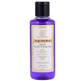 Khadi Natural Lavender and Ylang Ylang Herbal Body Wash (2)