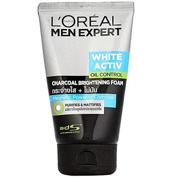 L'Oreal Paris Men Expert White Activ Oil Control Charcoal Foam