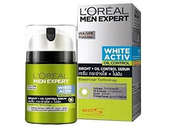 L'Oreal Paris Men Expert White Activ Oil Control Fluid