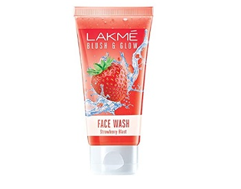 Lakme Blush & Glow Strawberry Extracts Freshness Gel Face Wash