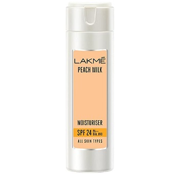 Lakme Peach Milk SPF 24 PA Sunscreen Moisturiser