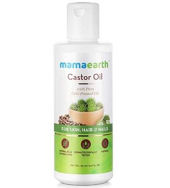 Mamaearth 100% Pure Cold Pressed Castor Oil