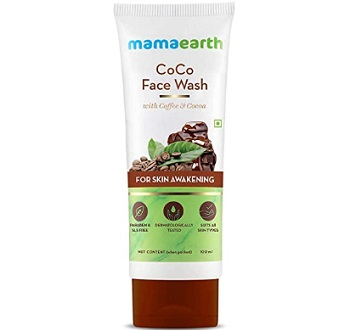 Mamaearth Coffee & Cocoa Face Wash for Women