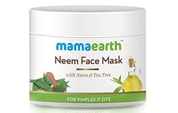 Mamaearth With Neem & Tea Tree Neem Face Pack