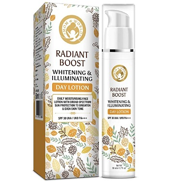 Mom & World Radiant Boost Whitening & Illuminating Day Lotion Moisturizer