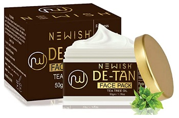 Newish De Tan Face Pack for Men
