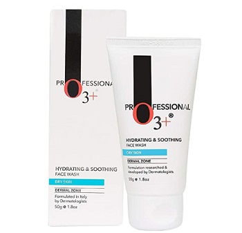 O3+ Hydrating & Soothing Face Wash with Aloe Vera and Cucumber