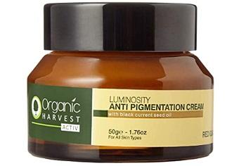 Organic Harvest Activ Luminosity Anti Pigmentation Cream
