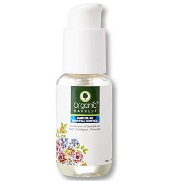 Organic Harvest Hair Oil for Hair Fall Control
