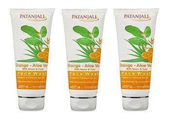 Patanjali Orange and Aloe Vera Face Wash