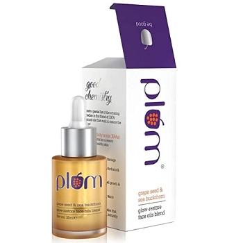 Plum Grape Seed & Sea Buckthorn Glow-Restore Face Oils