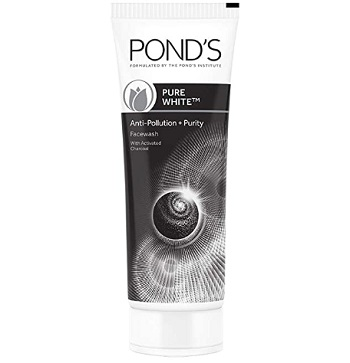 Pond's Pure White Anti Pollution Activated Charcoal Face Wash