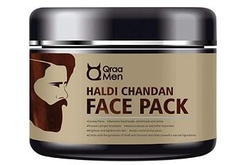 Qraa Men Haldi Chandan Face Pack