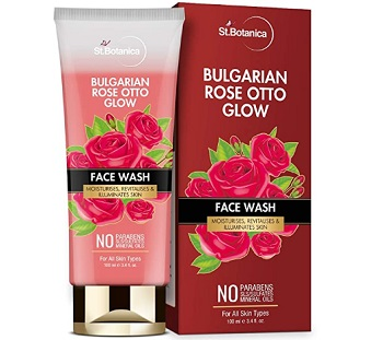 StBotanica Bulgarian Rose Otto Glow Face Wash