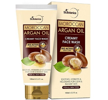 StBotanica Moroccan Argan Oil Creamy Face Wash