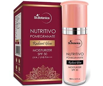 StBotanica Nutritivo Pomegranate Radiant Glow Moisturiser SPF 30