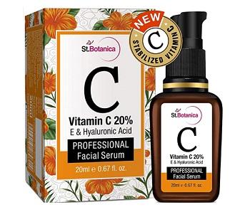 StBotanica Vitamin C 20% Vitamin E and Hyaluronic Acid