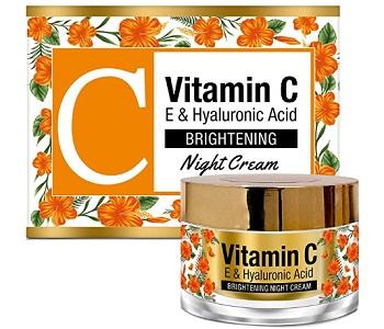 StBotanica Vitamin C, E & Hyaluronic Acid Brightening Night Cream
