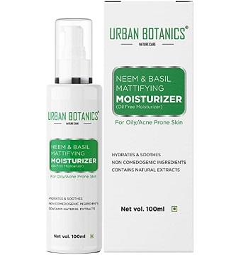 UrbanBotanics Oil-Free Moisturizer For Face
