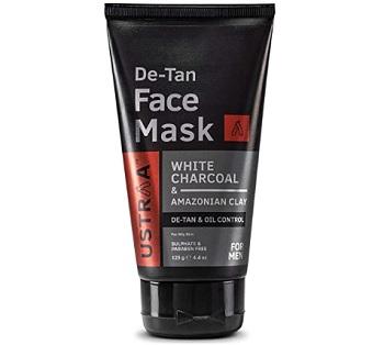Ustraa De-Tan Men Face Mask For Oily Skin