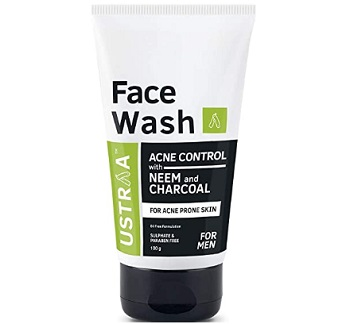 Ustraa Face Wash Acne Control With Neem & Charcoal Face Wash