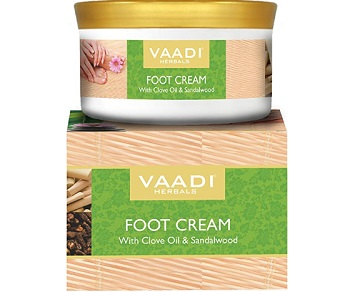 Vaadi Herbals Foot Cream, Clove And Sandal Oil