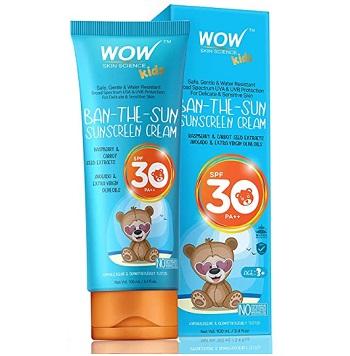 WOW Kids Ban The Sun Sunscreen Cream Spf 30