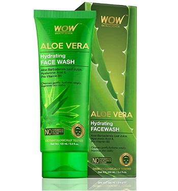 Wow Aloe Vera Hydrating Gentle Face Wash