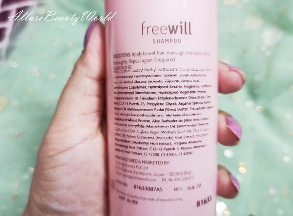 freewill shampoo and conditioner review 3