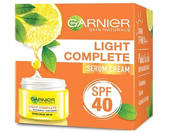 Garnier Skin Natural Light Complete White Speed Fairness Serum Cream