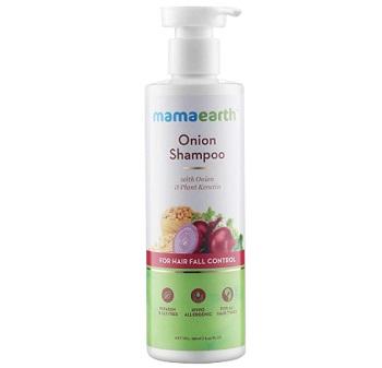 Mamaearth Onion Hair Fall Shampoo for Hair Growth
